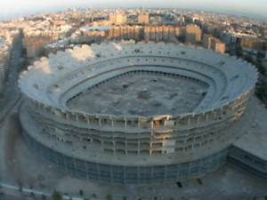 estado actual nuevo Mestalla (webcam Superdeporte)